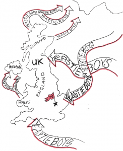 Yeastie Boys Invasion Map