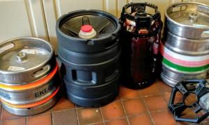 Top-pressure kegs