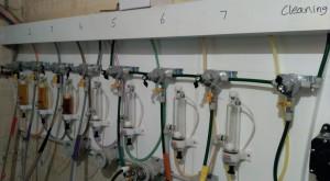 "Shiny new ""craft keg"" install... wot?! No gauges?!"